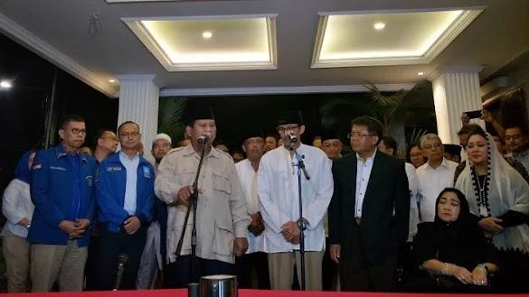 Prabowo Targetkan Menang 63 Persen