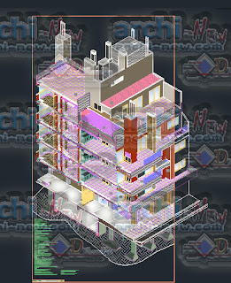 download-autocad-cad-dwg-file-apartment-building-7-storeys-axonometric