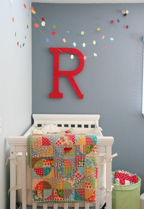 Letras de madera para dormitorios infantiles