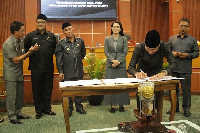 Komisi D DPRD Depok Sampaikan Pokir Pada APBD Perubahan 2017