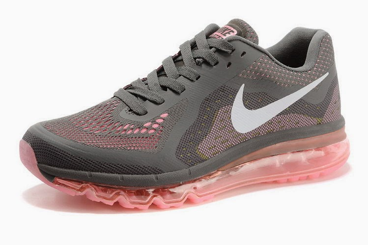 super popular 29522 2332e brand sneakers store Women nike air max 2014 gray pink runni