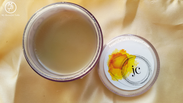 Juicy Chemistry Argan & Mango Butter Masque Colour And Consistency