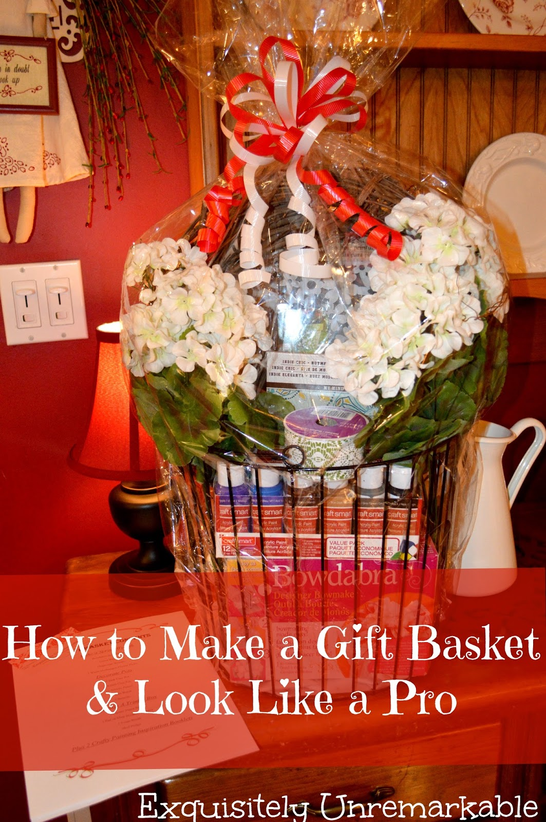 Create a gift basket and look like a pro