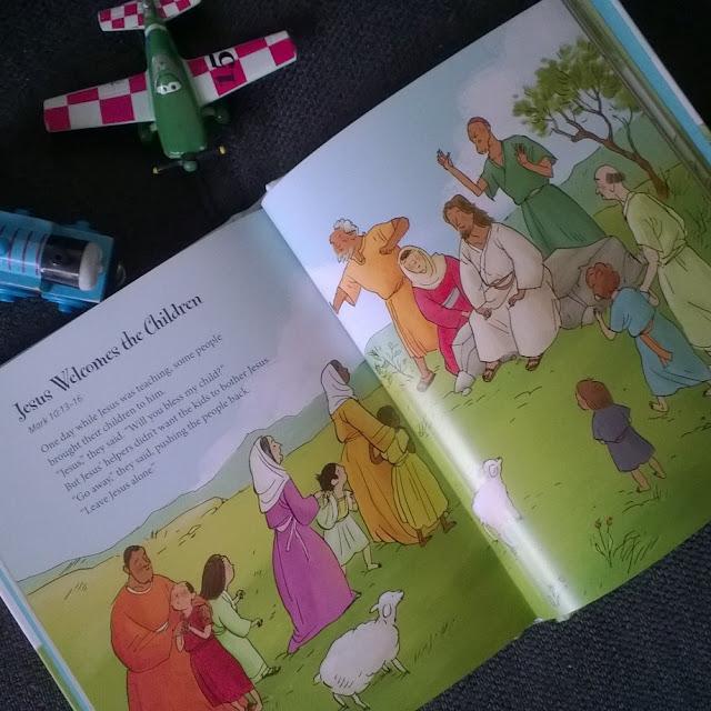 Inside God's Little Lambs Bible Stories