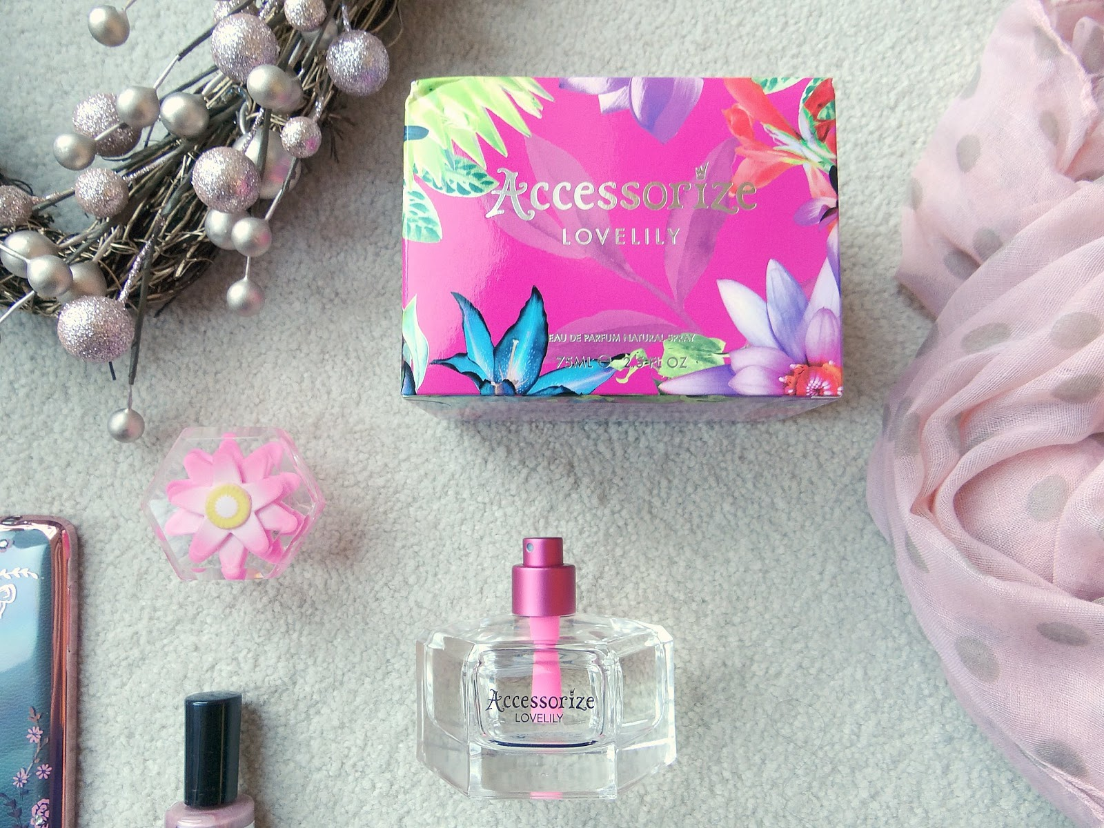 Monsoon accessories, Accessorize LoveLily Eau de Parfum, Perfume Christmas 2016
