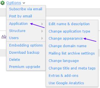 nabble forum customization