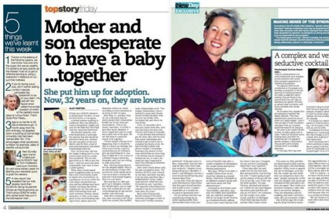Madre e hijo están enamorados y planean tener hijos juntos