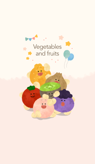 many vegetables and fruits