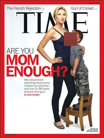 Kontroversi ASI Majalah Sampul TIME Cara Ibu Menyusui Bayi yang Menuai Kontroversi