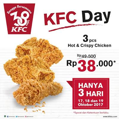 Promo diskon KFC selama 3 hari