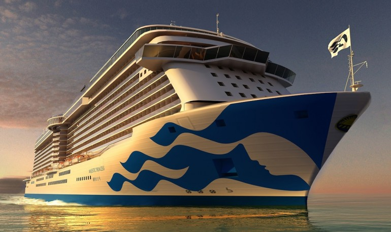 Majestic Princess new livery