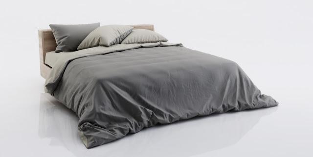 Bed Sketchup Model
