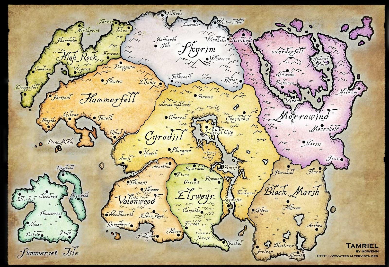 Shannara Map Southwest Destinations Map Central America Map