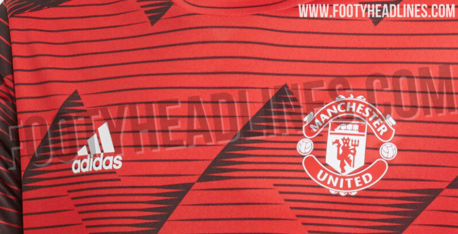 5d873dbb2 ... at Man Utd's 2020 pre-match shirt. Set to be released in November /  December 2019, it is made by Adidas and will be worn for the second half of  the ...