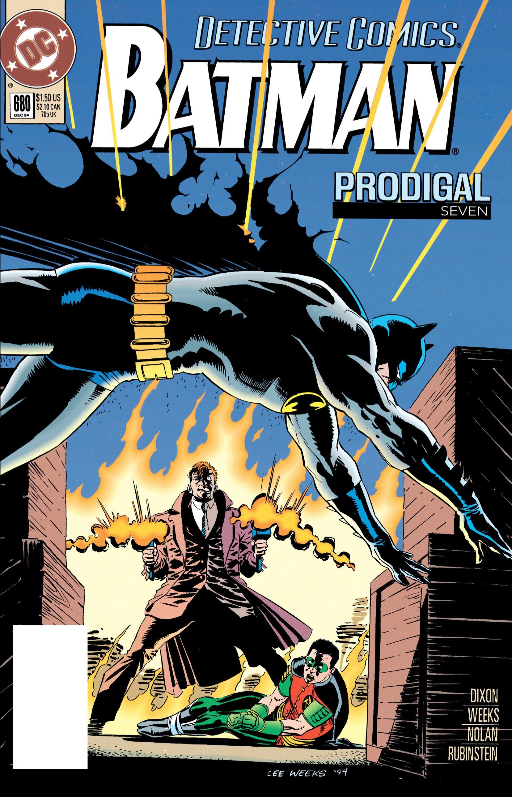 Detective Comics (1937) 680 Page 1