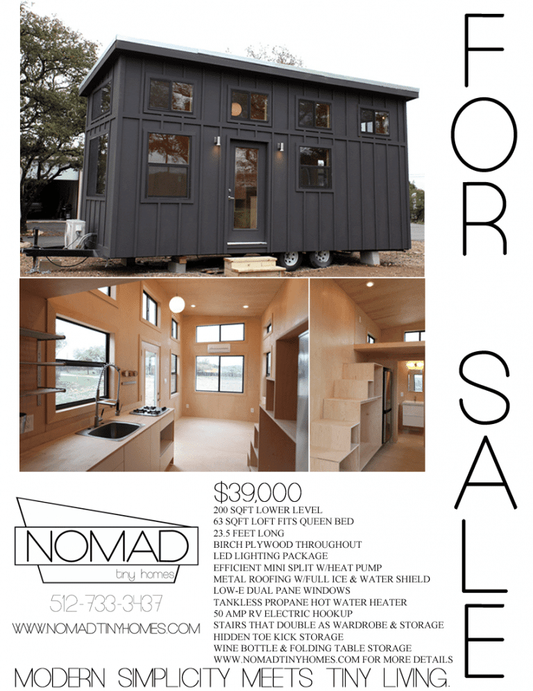 The Black Pearl by Nomad Tiny HomesTINY HOUSE TOWN