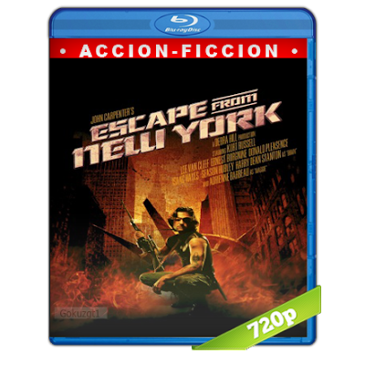 1997 Escape De Nueva York (1981) BRRip 720p Audio Trial Latino-Castellano-Ingles 5.1