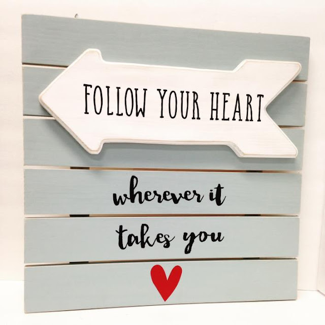 Follow Your Heart @craftsavy, #craftwarehouse