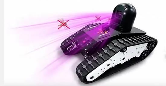 Robô chinês mata mosquitos com arma laser como em 'Star Wars' - Img 1
