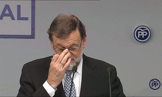 Mariano Rajoy deja la presidencia de Partido Popular