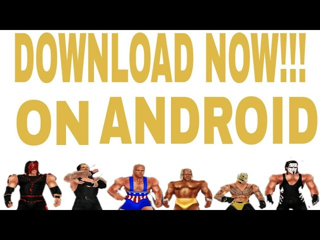 Gaming Remastered: WWF No Mercy Best Mod Download On Android