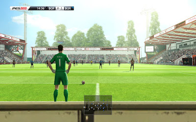 PES 2013 Dean Court Stadium (Vitality Stadium) Fc Bournemouth by Gendy (GDB VERSION)