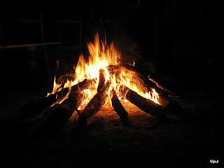 Campfire in Nainitaal