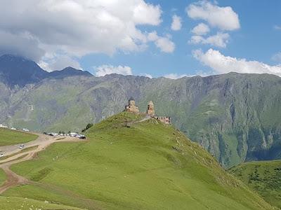 El monasterio de Gergeti