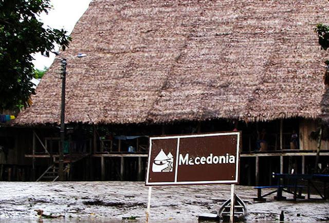 χωριό με το όνομα Μακεδονία κρυμμένο στα βάθη του Αμαζονίου