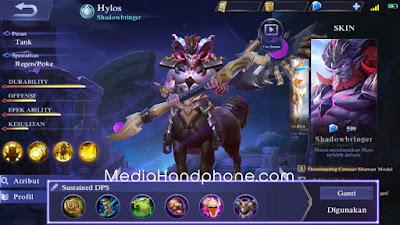 Build Hylos Mobile Legends