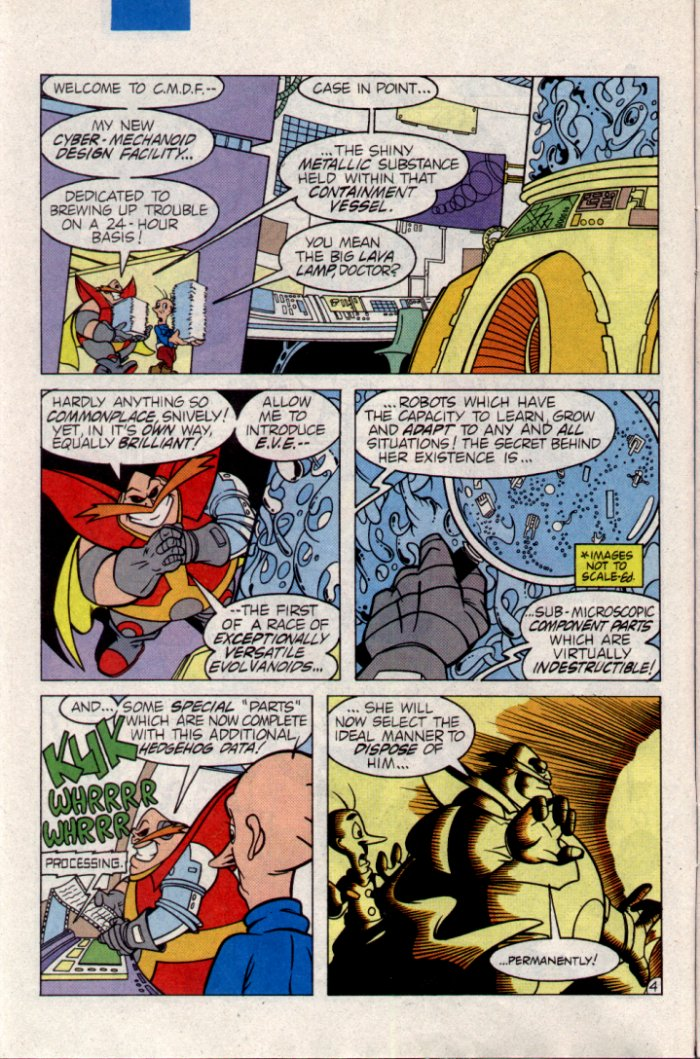Read online Sonic The Hedgehog comic -  Issue #21 - 5