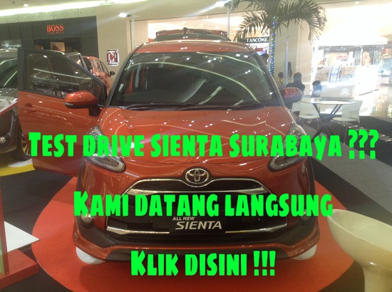 Test Drive Toyota Sienta Surabaya