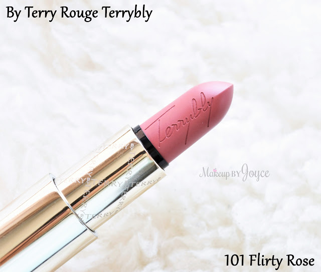 By Terry Rouge Terrybly Lipstick 101 Flirty Rose Review