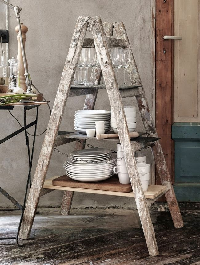 reutilizar una escalera antigua