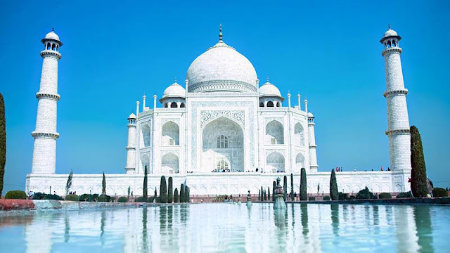 ضريح تاج محل بالهند Taj Mahal Agra India