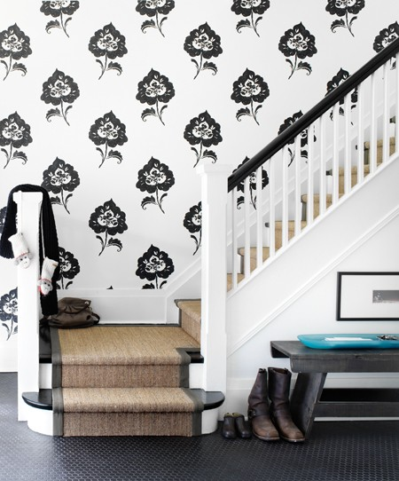 Dwellers Without Decorators: Shocking Foyer Makeover