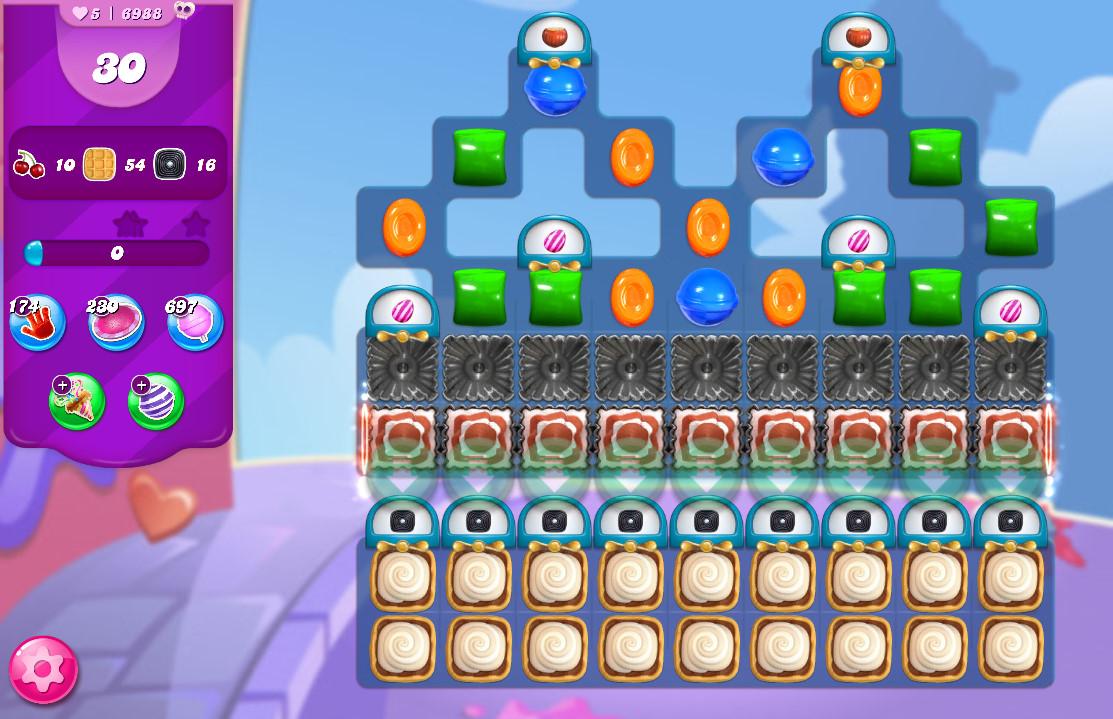 Candy Crush Saga level 6988