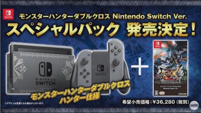 لعبة Monster Hunter XX تحصل على ديمو قادم باليابان لجهاز Nintendo Switch