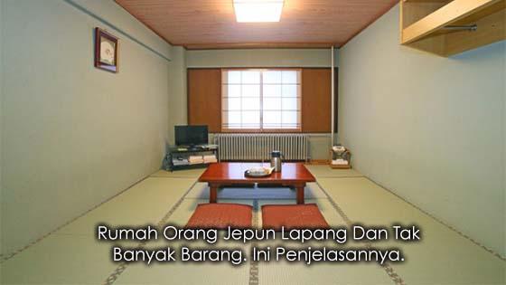 Rahsia Kenapa Rumah Orang Jepun Lapang Dan Tak Banyak Barang
