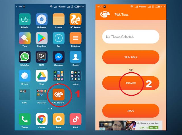 Tutorial Pasang Tema Pihak Ketiga Xiaomi Dengan MIUI Theme Editor