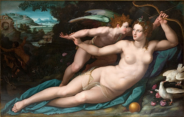Alessandro Allori: Venere e Cupido