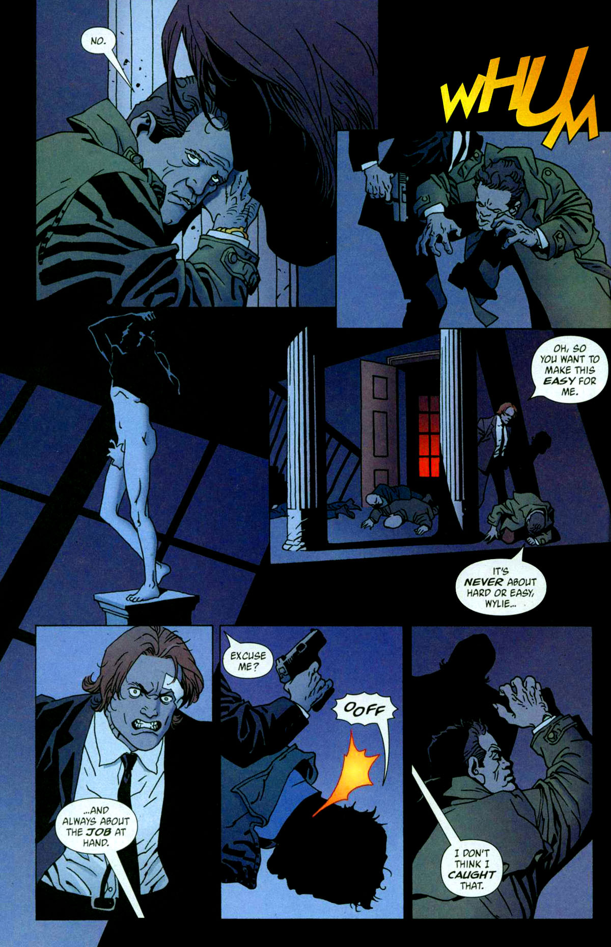 Read online 100 Bullets comic -  Issue #56 - 20