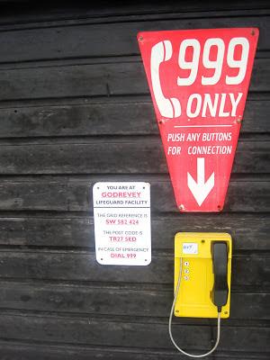 Godrevy lifeguard hut