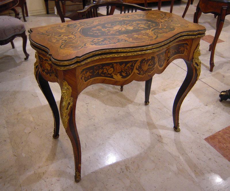 Antiquariato Mobili e Oggetti Antichi Mobili antichi tavoli da gioco appoggio consolle