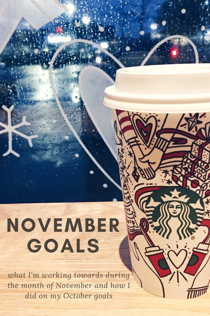 November Goals | kathleenhelen