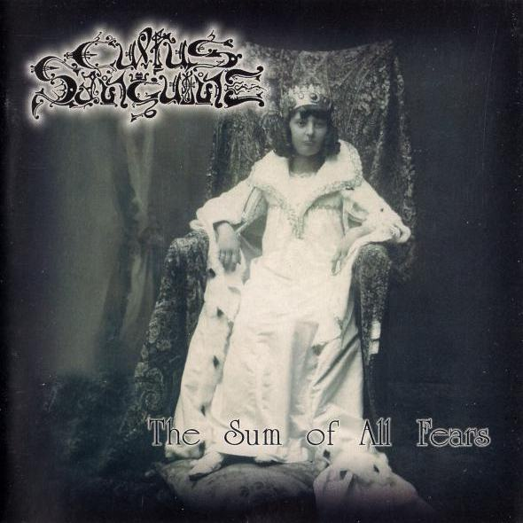 cultus sanguine the sum of all fears black metal italie