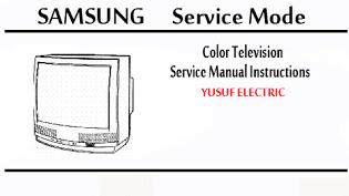Service Mode TV SAMSUNG Berbagai Type
