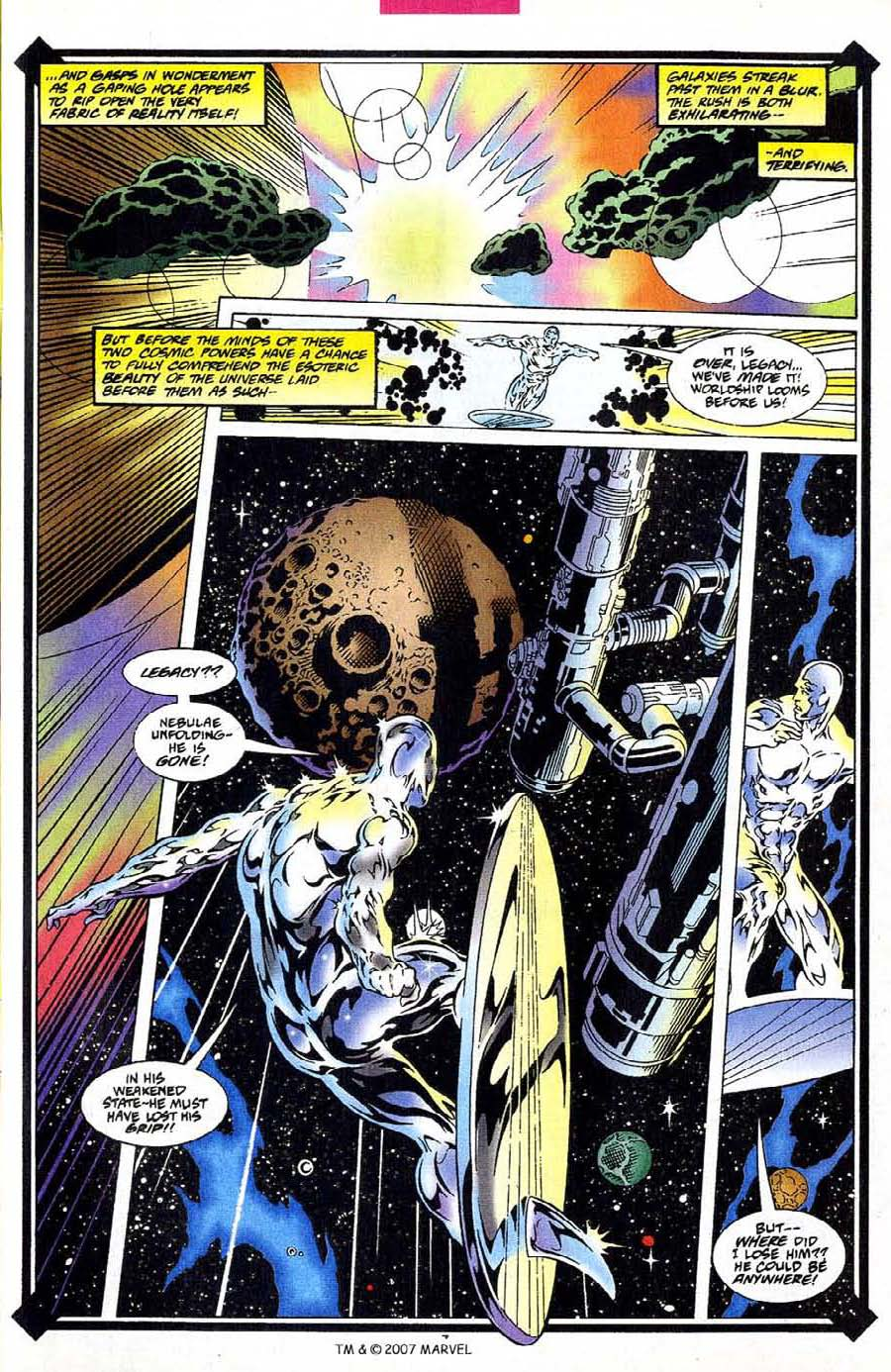 Silver Surfer (1987) Issue #109 #117 - English 9