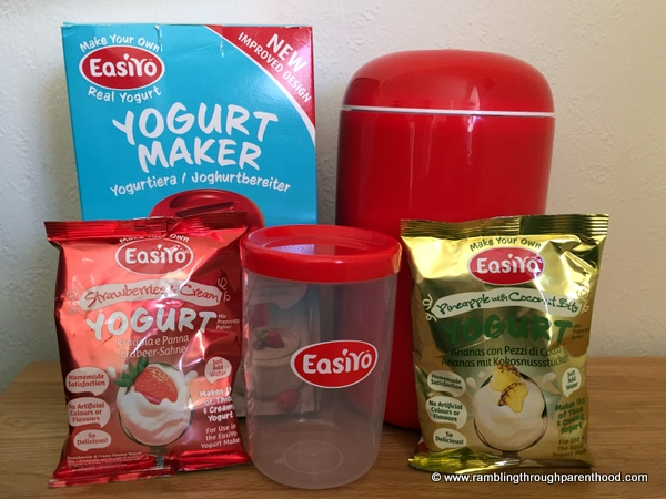 EasiYo's new bright and bold Red Yogurt Maker is sleek, stylish and easy to use.