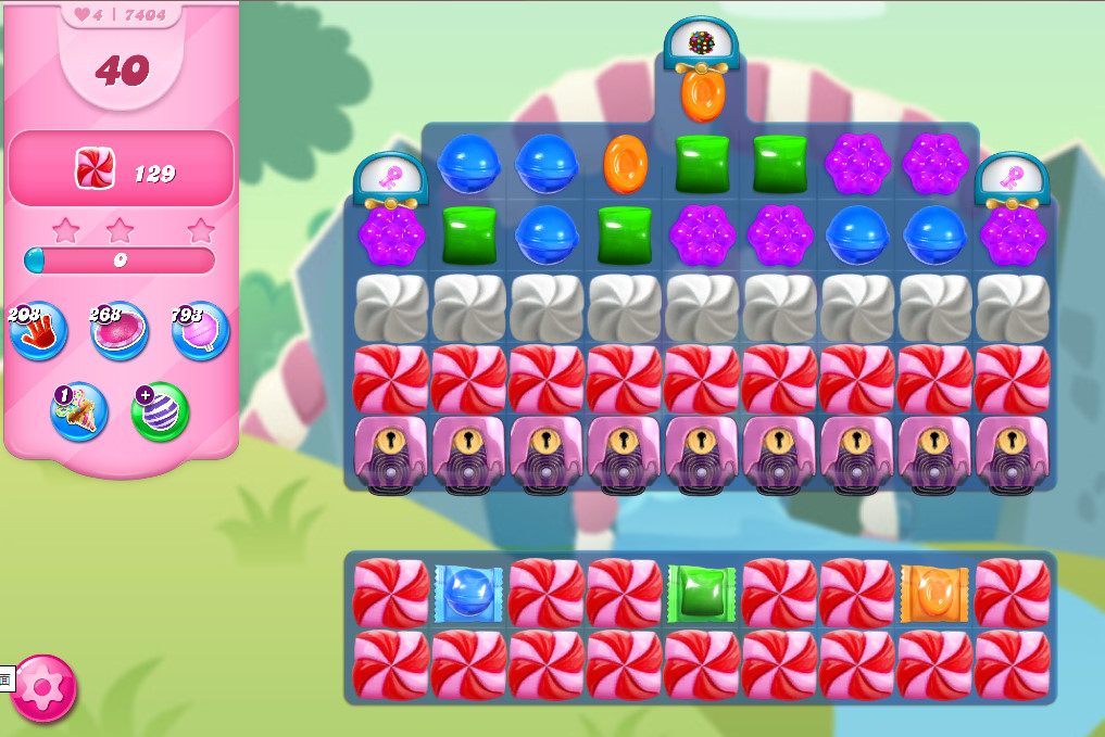 Candy Crush Saga level 7404